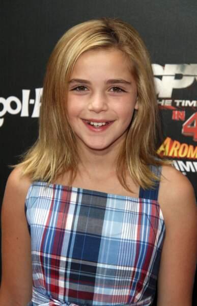 Kiernan Shipka  est une véritable enfant star. Elle est révélée par le rôle de Sally Draper dans la série télévisée dramatique Mad Men. Elle a également joué ses premiers rôles en apparaissant dans des séries télévisées comme Monk, Cory est dans la place et Heroes.
