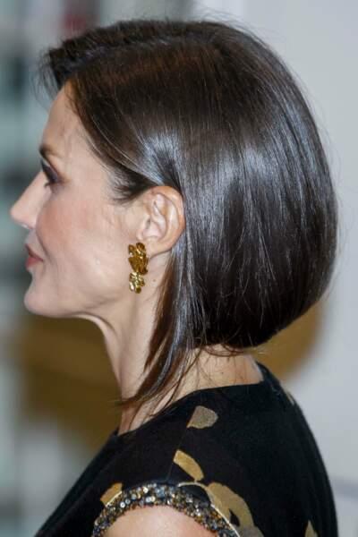 La reine Letizia d'Espagne fait sensation avec un faux carré.