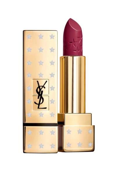"""Rouge à lèvres """"Rouge Pur Couture"""", édition limitée de Noël Yves Saint Laurent, 35,50€"""