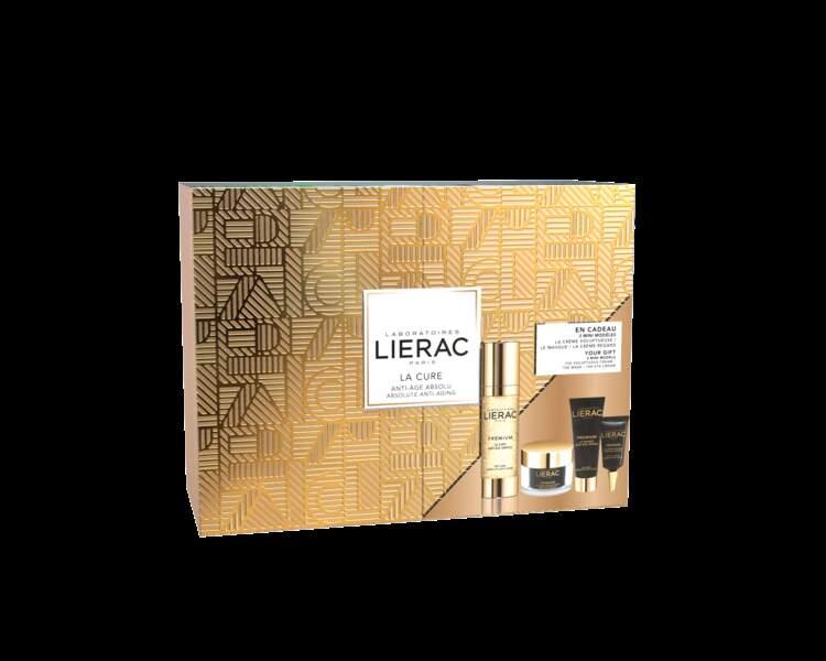 Coffret de Noël Cure Premium, Lierac, 116,20€