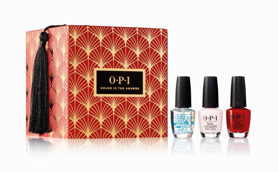 Coffret surprise de vernis à ongles OPI, 20€ chez Sephora