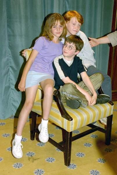 Rupert Grint, alias Ron Weasley. Il devient mondialement connu lors de la sortie de la série cinématographique, Harry Potter. C'était en 2000, il avait à peine 12 ans.
