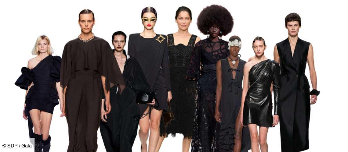 PHOTOS – Tenue de fête : craquez pour une robe noire comme les stars - Gala