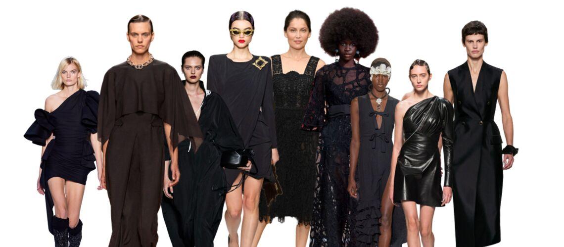 PHOTOS – Tenue de fête : craquez pour une robe noire comme les stars