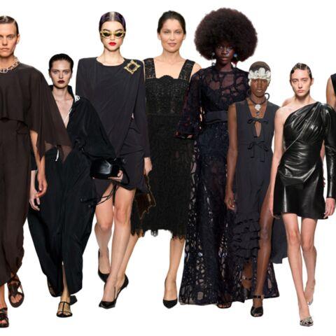 PHOTOS – Tenue de fête: craquez pour une robe noire comme les stars