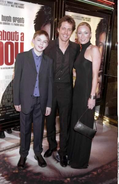 Nicholas Hoult s'est fait connaître en 2002 à l'âge de 13 ans, avec le film About A Boy.