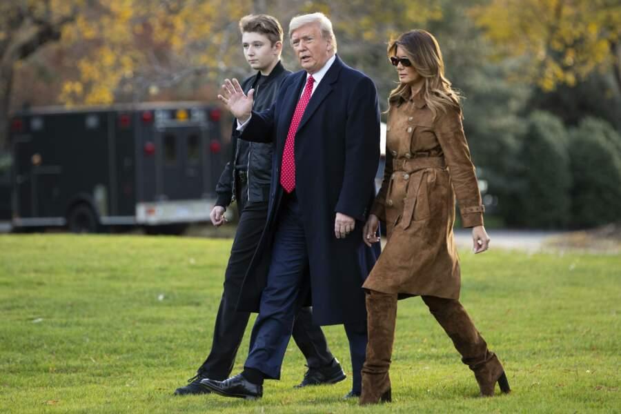 s'est envolé le 26 novembre avec ses parents pour célébrer Thanksgiving en Floride