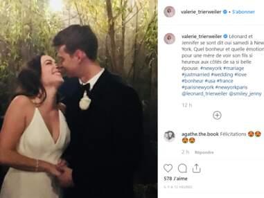 PHOTOS - Qui est Jennifer, la jeune femme que Léonard Trierweiler a épousé ?