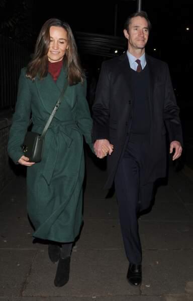 Pippa Middleton et son mari étaient à un événement en l'honneur d'un ami de William et d'Harry