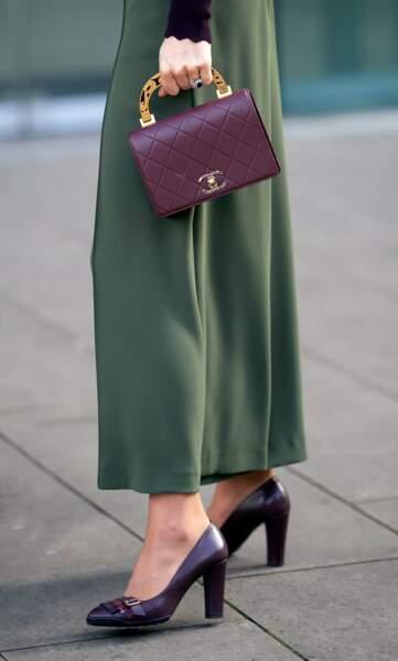 Kate Middleton et un sac à main vintage Chanel qui fait toute la différence.