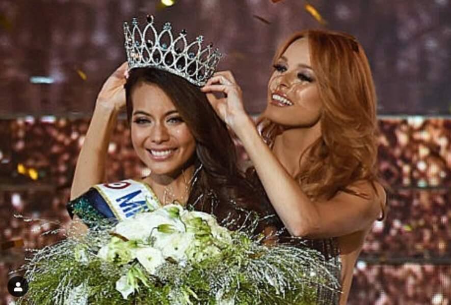 Les deux dernieres Miss, Maëva Coucke et Vaimalama Chaves sont toutes les deux des cœurs à prendre.