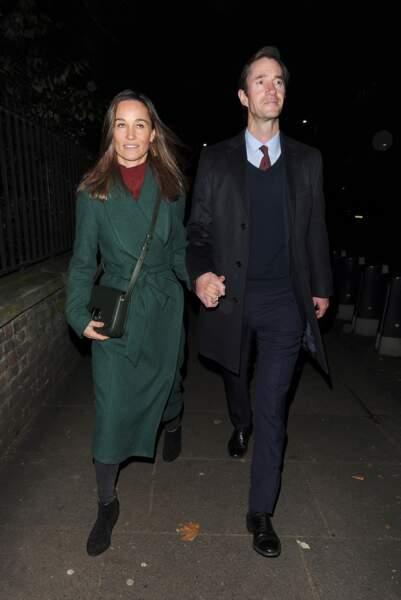 Pippa Middleton et son mari James Matthews, élégants tout en sobriété