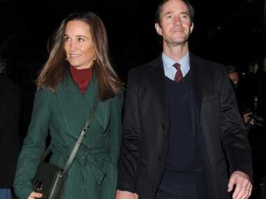 PHOTOS - Pippa Middleton et son mari, James, ont assuré un déplacement à la place du Fab Four