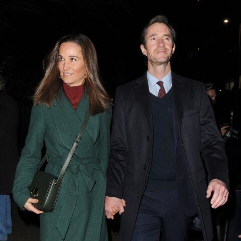 PHOTOS – Pippa Middleton avait fière allure au bras de son mari, en l'honneur d'un ami de Harry et William