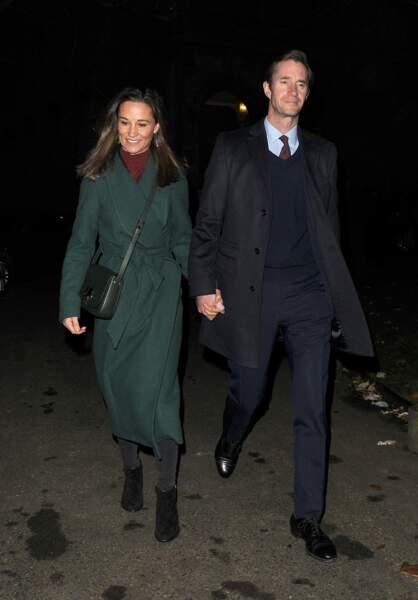Le 4 décembre, Pippa Middleton et son mari ont remplacé William, Harry, Kate et Meghan