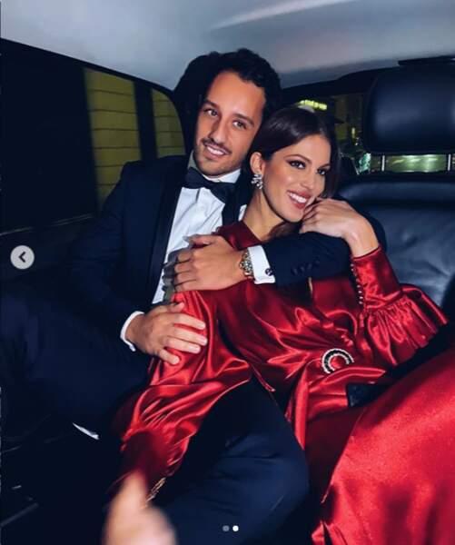 Iris Mittenaere, Miss France et Miss Univers 2016. Après Kev' Adams et Anthony Colette, la belle a su rebondir et trouver l'amour auprès de Diego El Glaoui. Ils sont ensemble depuis peu mais filent le parfait amour.