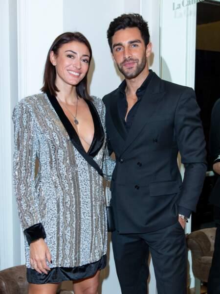 Rachel Legrain-Trapani, Miss France 2007 est en couple avec le beau Valentin Leonard. La photo a été prise en novembre 2019 et leur relation date de quelques mois.