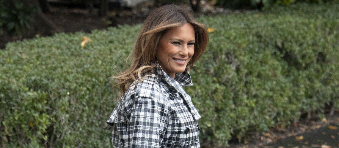 PHOTOS – Melania Trump dépensière : découvrez ses manteaux les plus chers