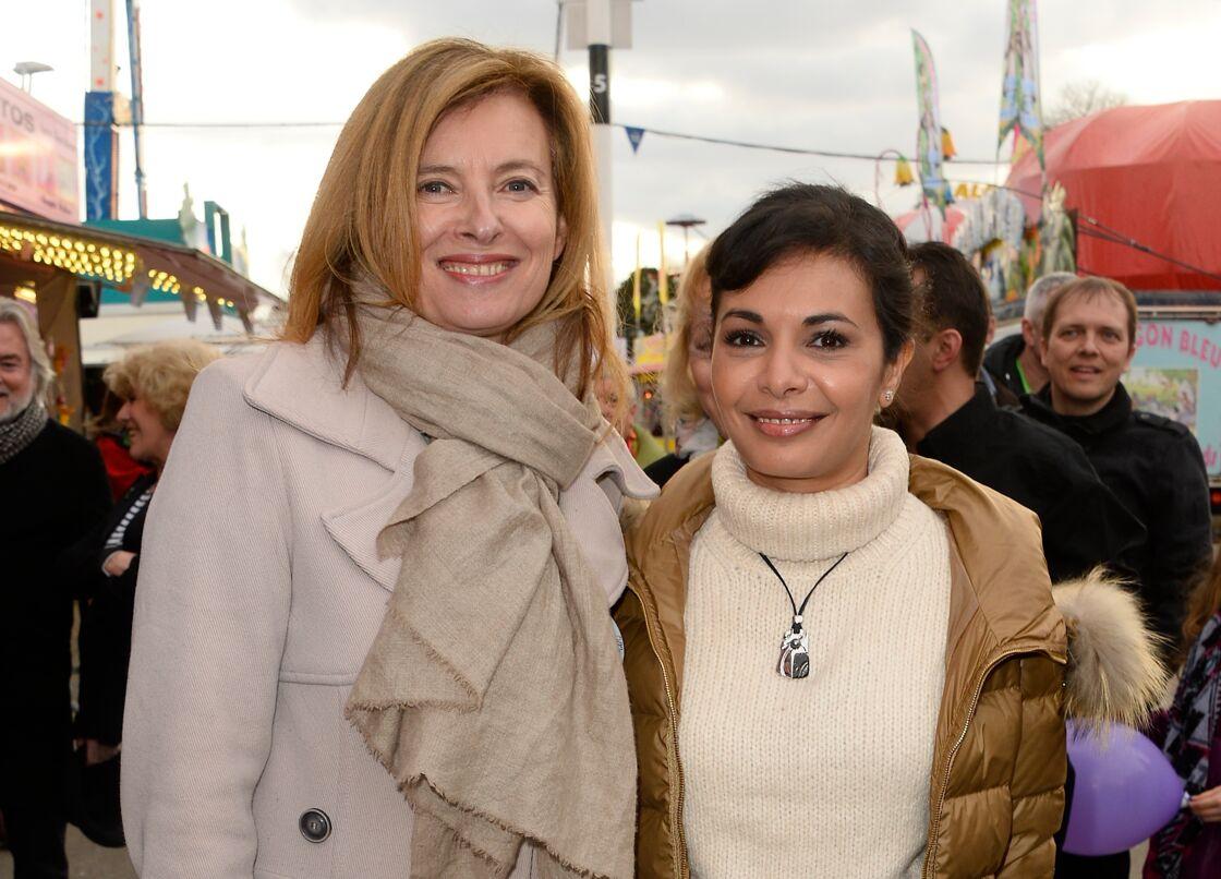 Valérie Trierweiler et Saïda Jawad réunies pour le Secours populaire