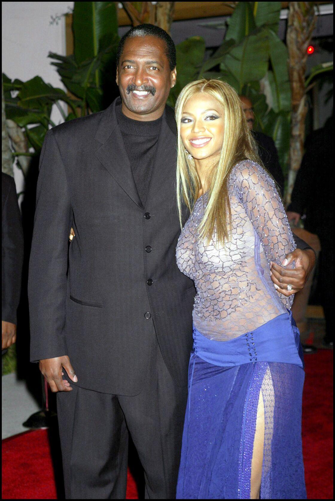 Beyoncé et son père en 2002