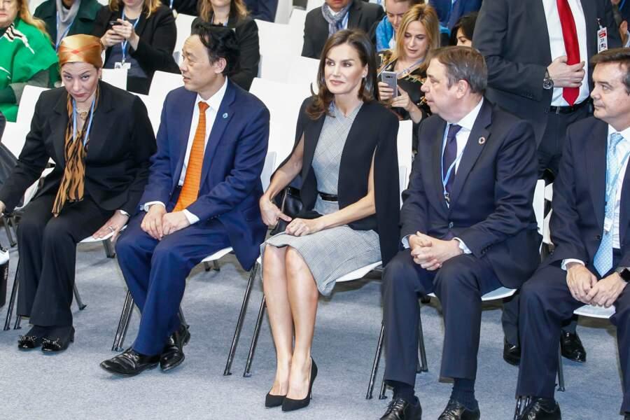 Un nouveau sans-faute pour Letizia d'Espagne !