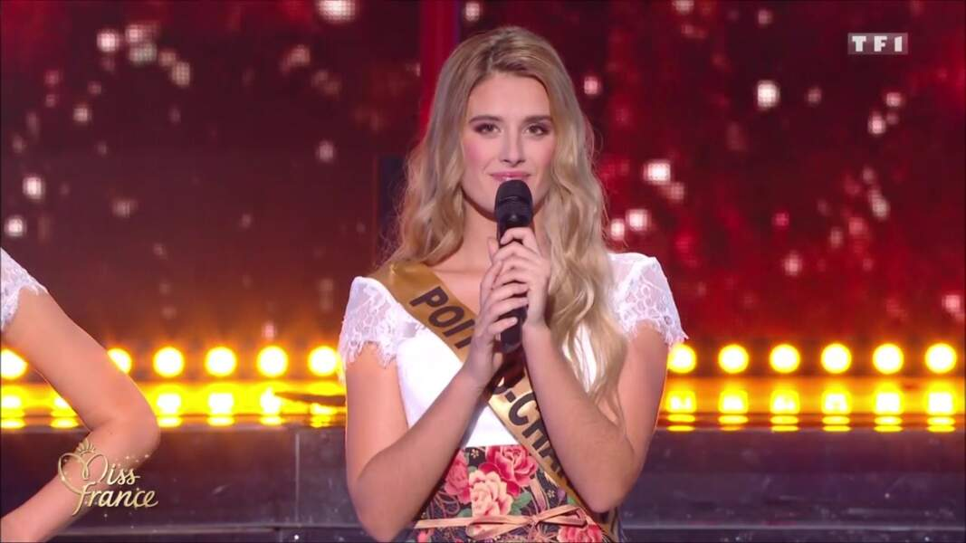 Miss Poitou-Charentes, Andréa Galland