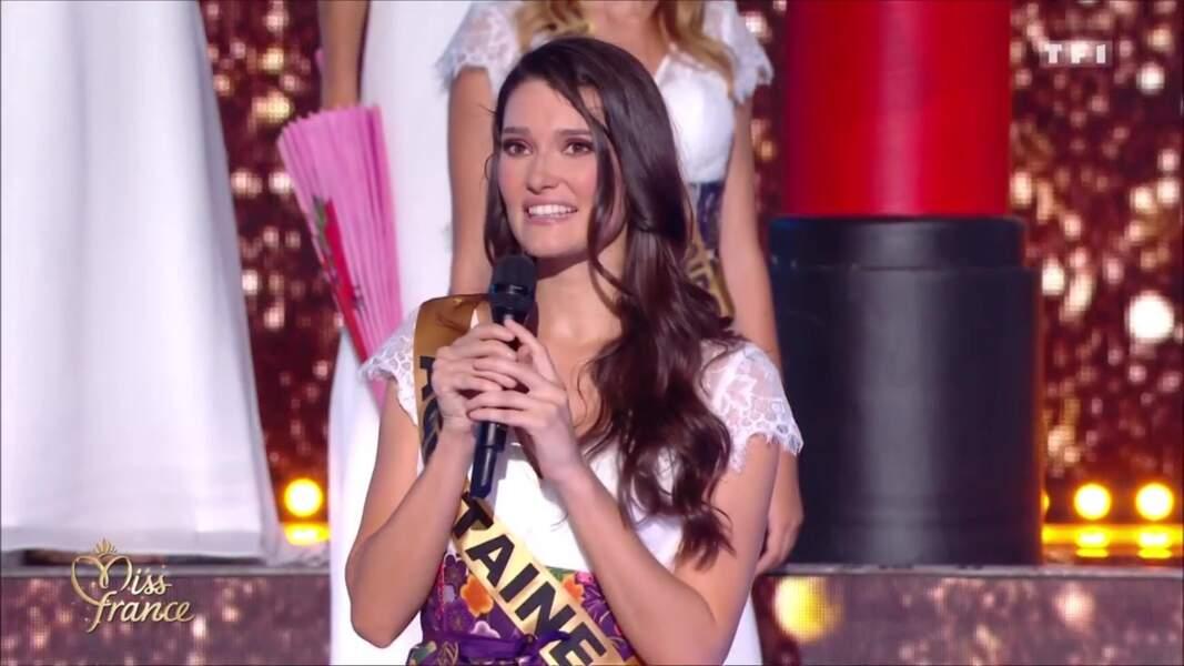 Miss Aquitaine, Justine Delmas