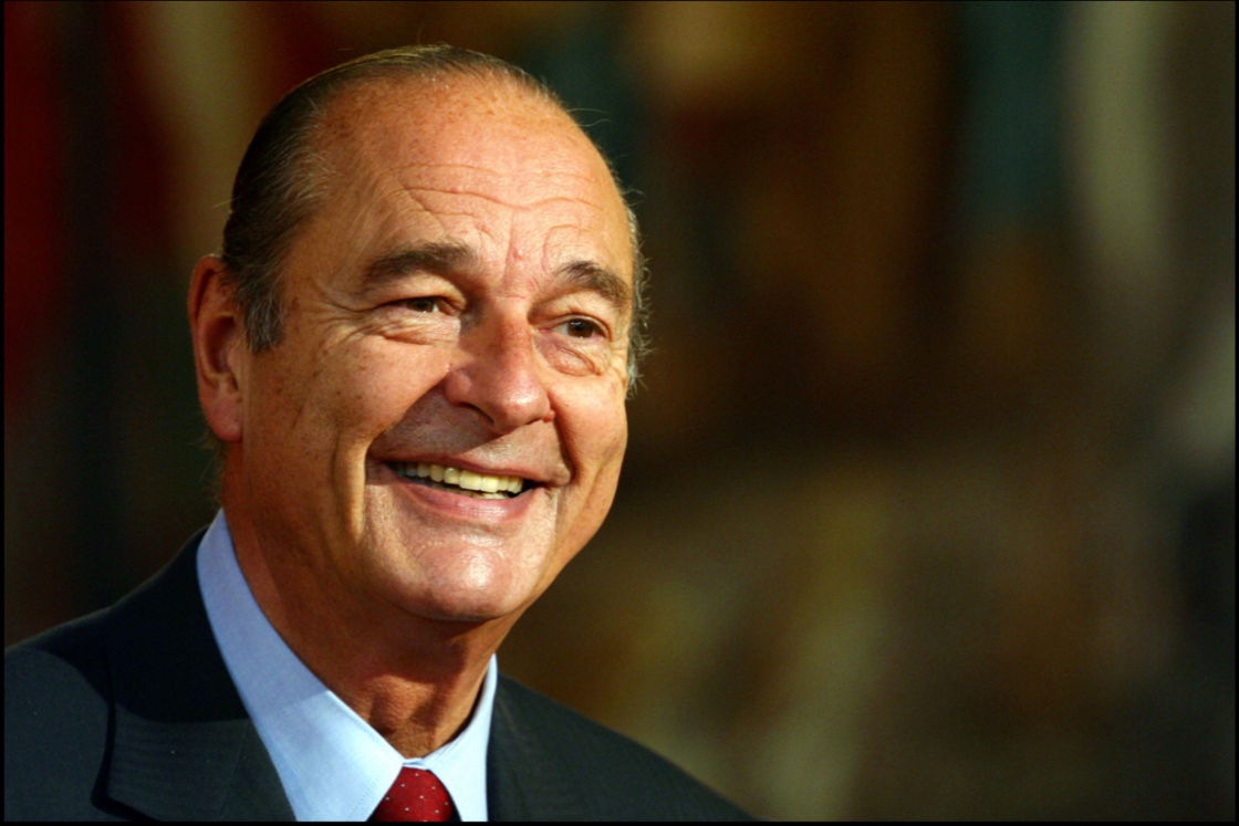 Jacques Chirac reçoit le Premier ministre des Pays Bas, à l'Élysée, le 22 octobre 2002.
