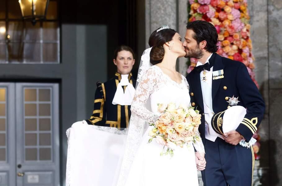 Le 13 juin 2015, le prince Carl Philip de Suède épousait sa chère et tendre, Sofia Hellqvist à Stockholm. Sauf qu'il a eu peur qu'elle ne vienne pas...