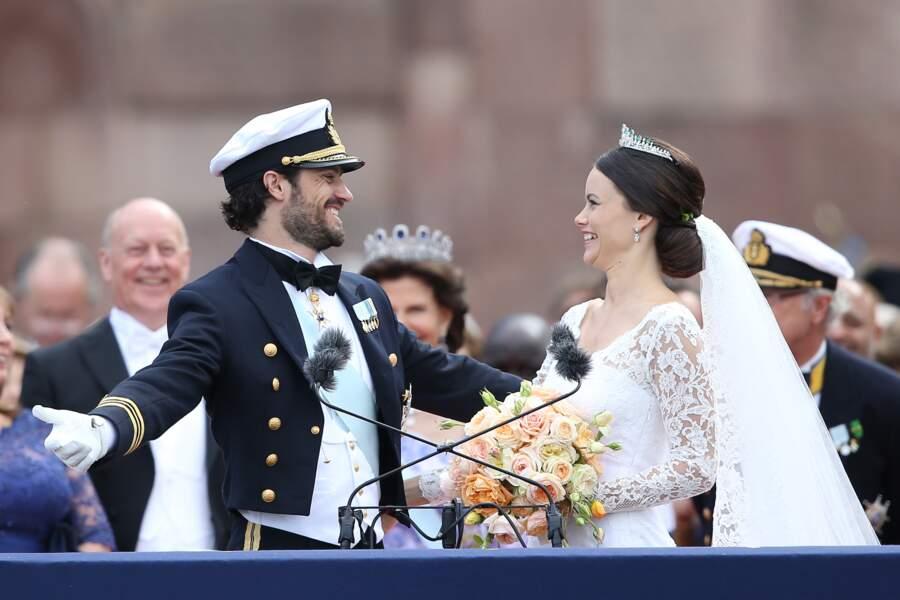 Le prince Carl Philip de Suède et Sofia ont opté pour un mariage branché, en faisant appel aux services du DJ Avicii.