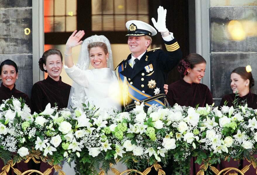 Maxima n'a pas uniquement versé des larmes de bonheur lors de son mariage avec Willem-Alexander des Pays-Bas le 2 février 2002.