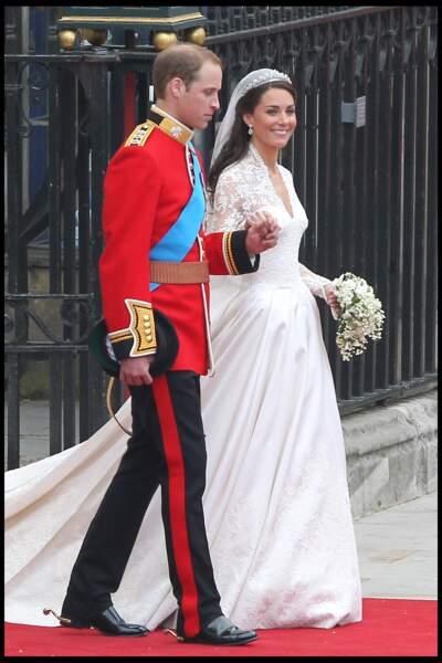 Pour leur mariage, Kate Middleton et le prince William n'ont pas lésiné sur les moyens.