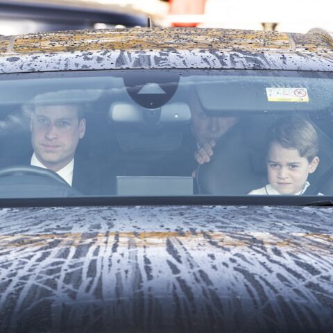 PHOTOS – Le prince George, assis près de William au volant : ces clichés qui mettent mal à l'aise
