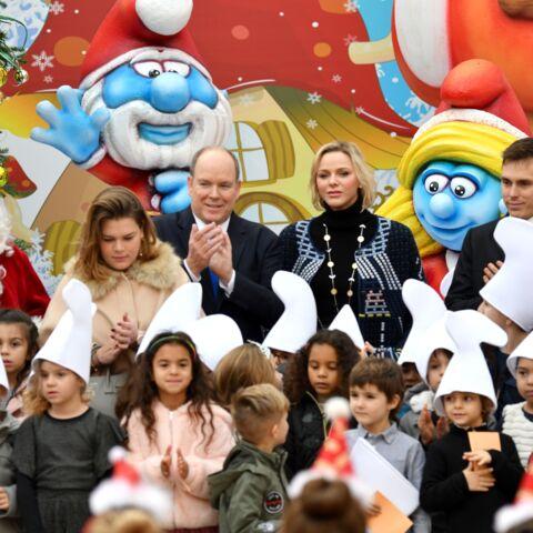 PHOTOS – Charlene de Monaco, mère Noël complice avec les enfants de Stéphanie