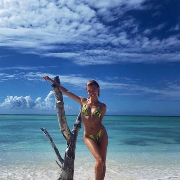 Si Hayley Bieber n'avait rien posté pendant les fêtes de Noël, son instagram est la preuve de ses belles vacances de janvier à la mer.