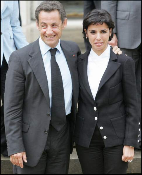Rachida Dati et sa relation intime avec Nicolas Sarkozy