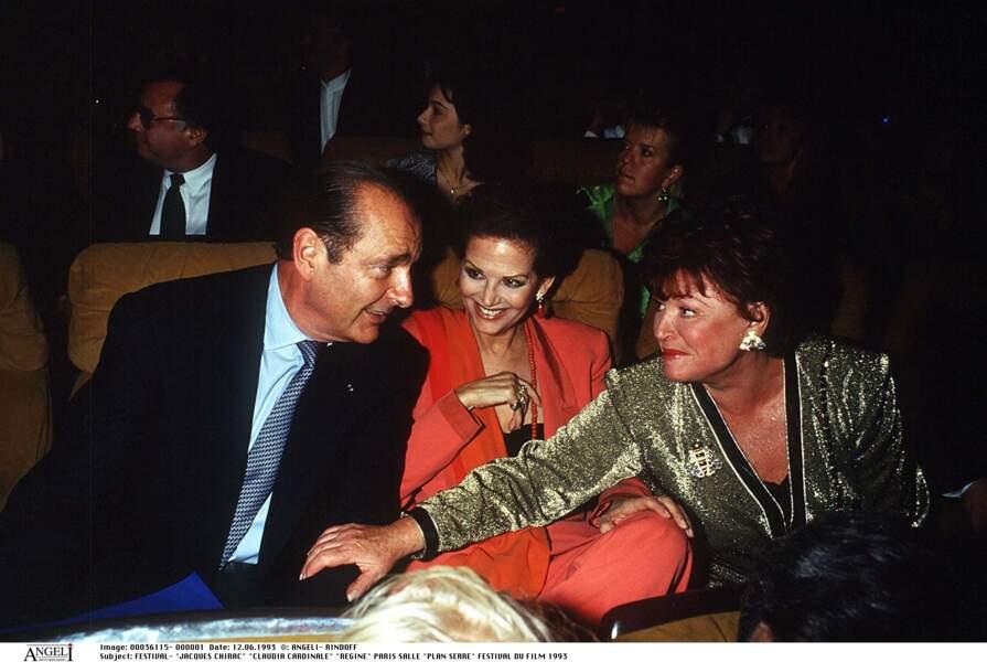 Jacques Chirac et sa mystérieuse nuit avec Claudia Cardinale