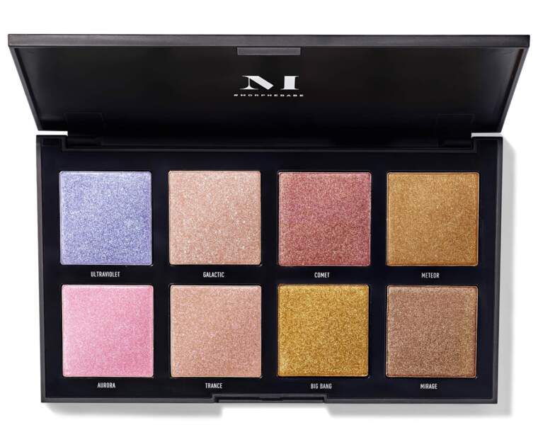 Palette Highlighters 8S Stellar Impact, Morphe, 23€