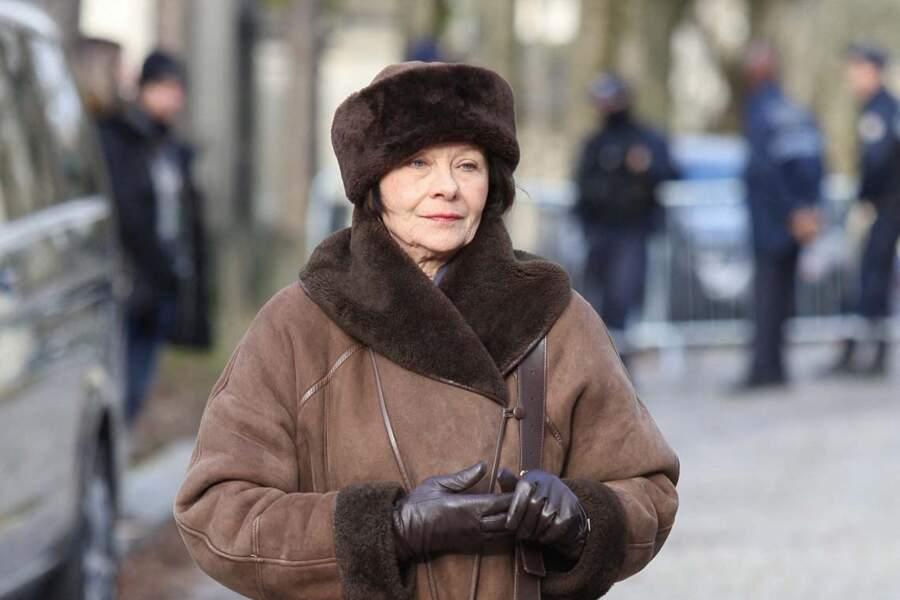 L'actrice française Macha Méril.