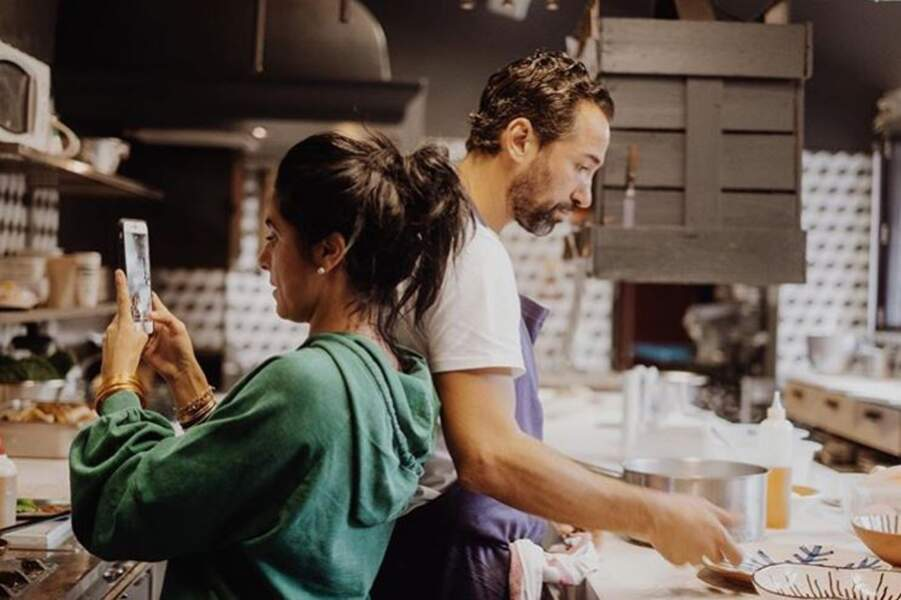 Pierre Augé et sa femme Fanny travaillent ensemble au quotidien.