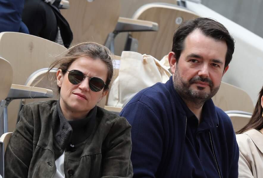 Jean-François Piège et sa femme Élodie. Ensemble ils sont parents d'un petit garçon prénommé Antoine.