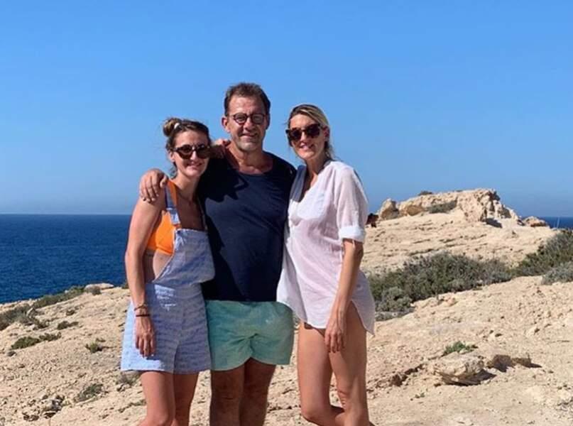 Michel Sarran, marié à Françoise, a deux filles : Emma et Camille