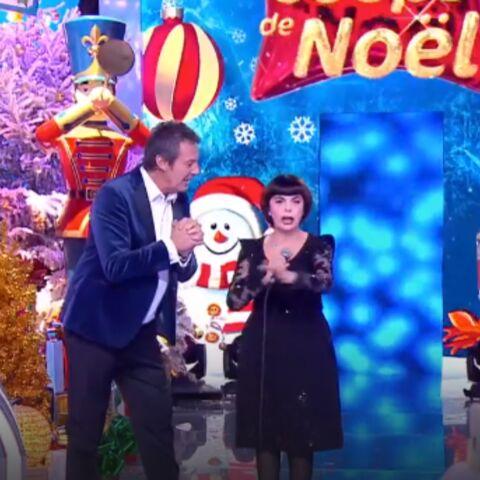 Les 12 coups de Noël: Mireille Mathieu très émue face à Paul