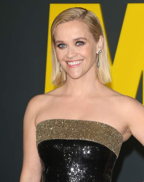 Le brushing façon mouillé de Reese Witherspoon