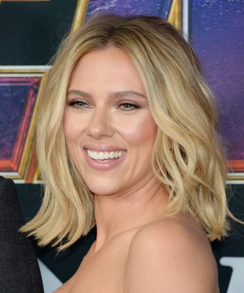Le brushing extra volume de Scarlett Johansson