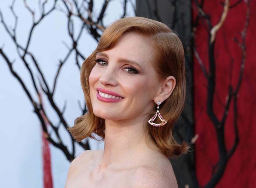 Le brushing hollywoodien de Jessica Chastain