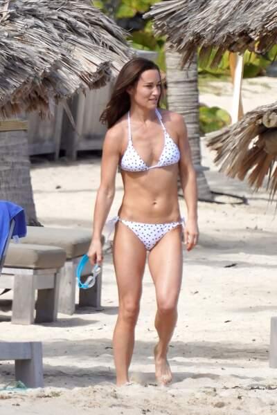 Pippa Middleton en bikini