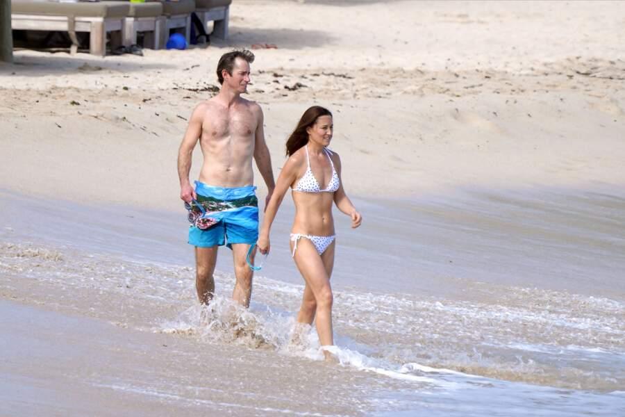 Pippa Middleton va se baigner à St Barth