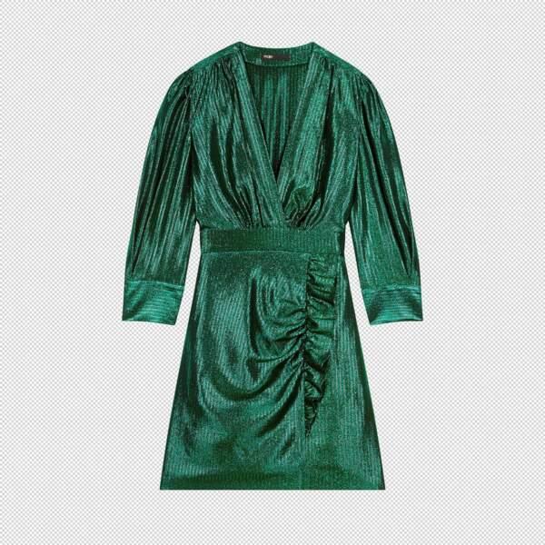 Robe en Lurex, 275 €, Maje.