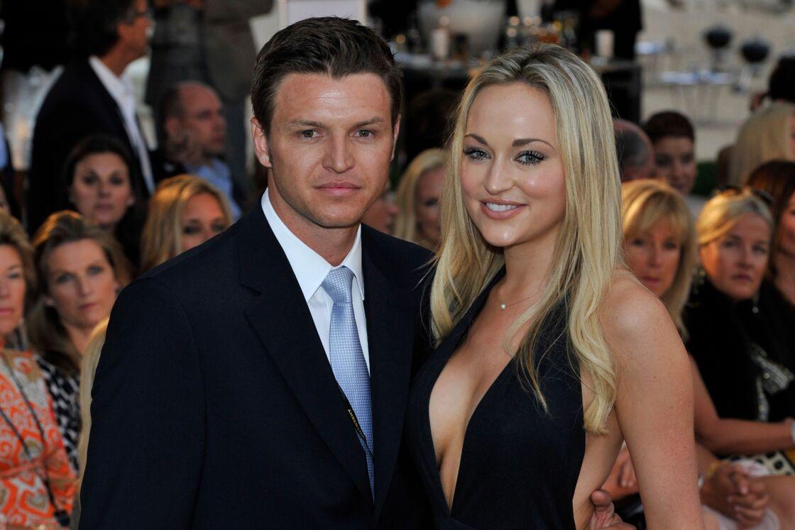 Gareth Wittstock et sa future épouse Roisin, à un défilé de mode monégasque, en mai 2012.